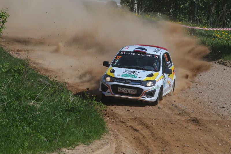 Гонщики «Лада-Центр» - победители этапа LADA Rally Cup