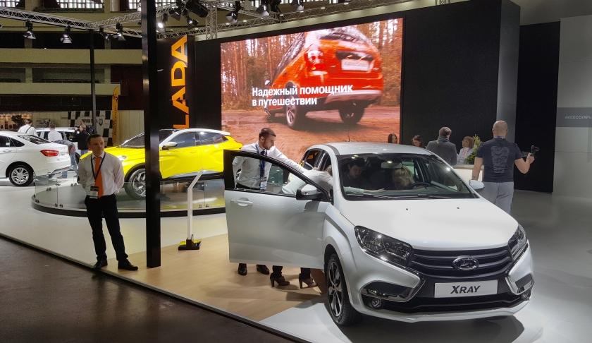 Лада-Центр на выставке «Мир автомобиля»